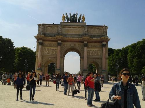 Arco del triunfo del Louvre
