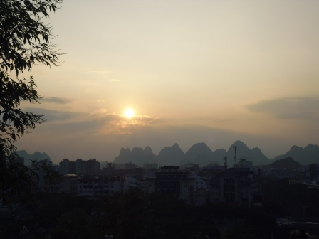 Guilin atardecer