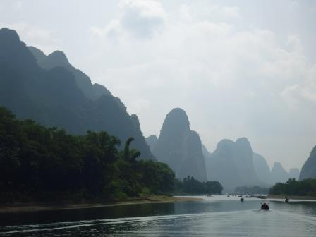 Guilin río Li