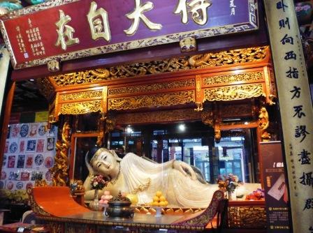 Shanghai réplica buddha de jade