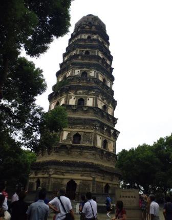 Suzhou pagoda Colina del Tigre