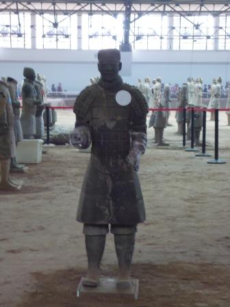 Xi'an guerrero reconstruido