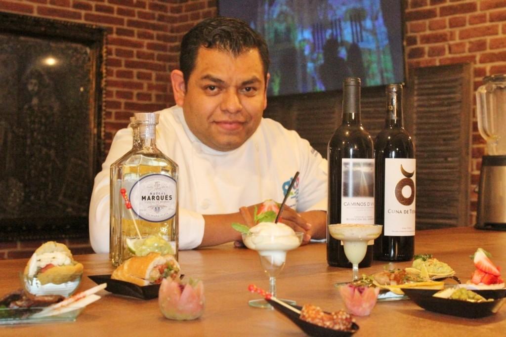 INAUGURACIÓN PUNTO GTO EN MADRID (4) Chef David Quevedo