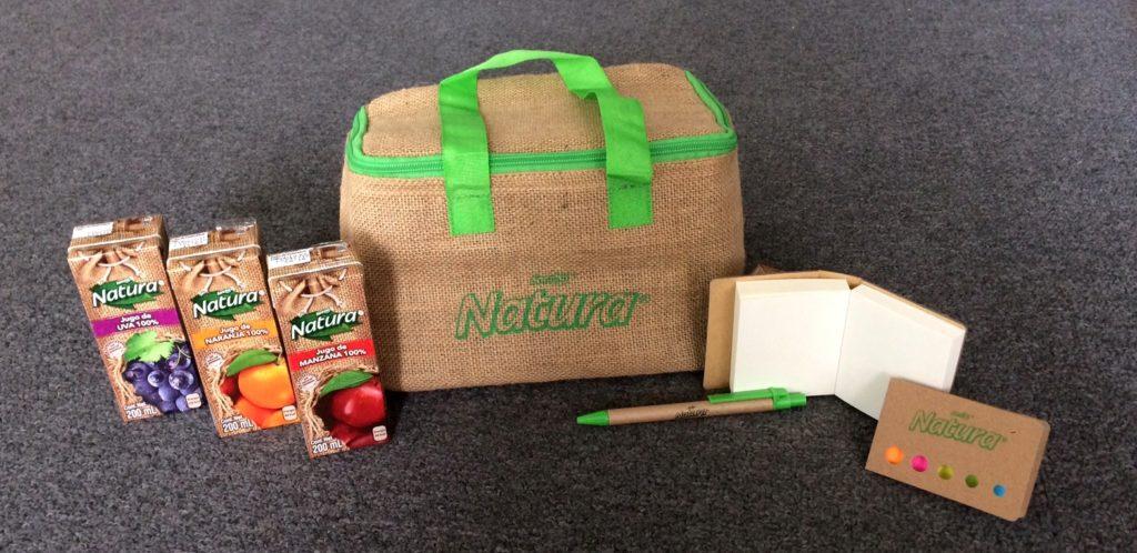 promoción loncheras Jugos Natura