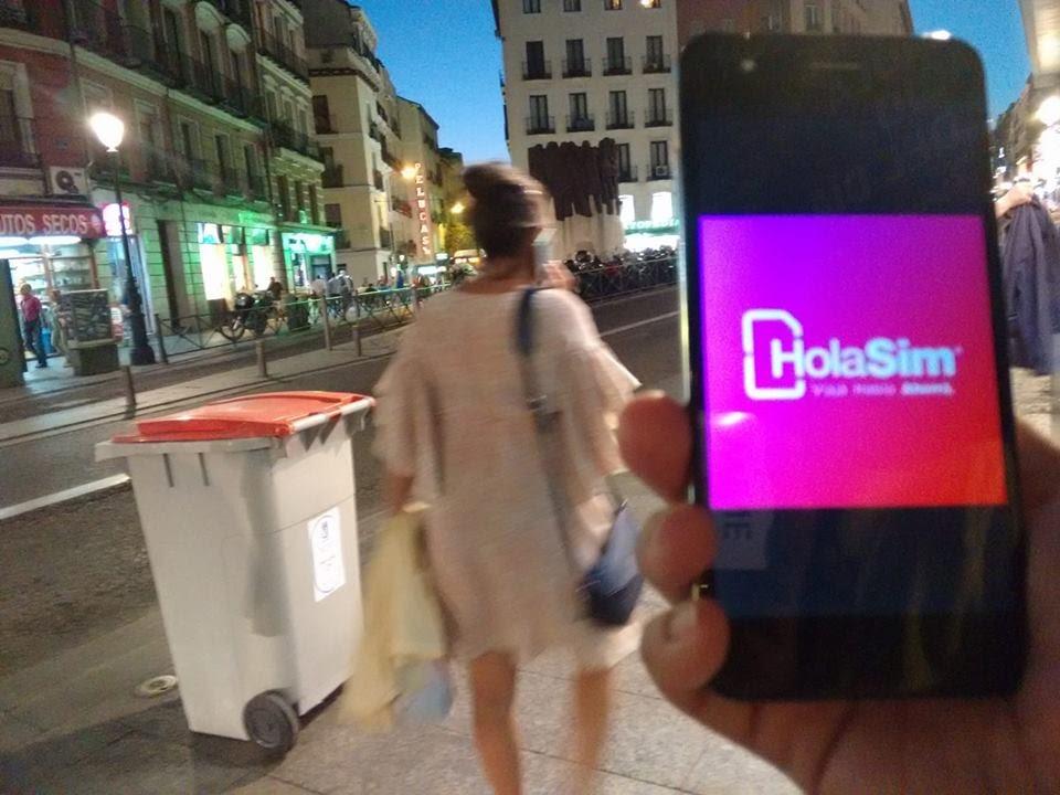 HolaSim funciona a la perfección en España y en 60 países más