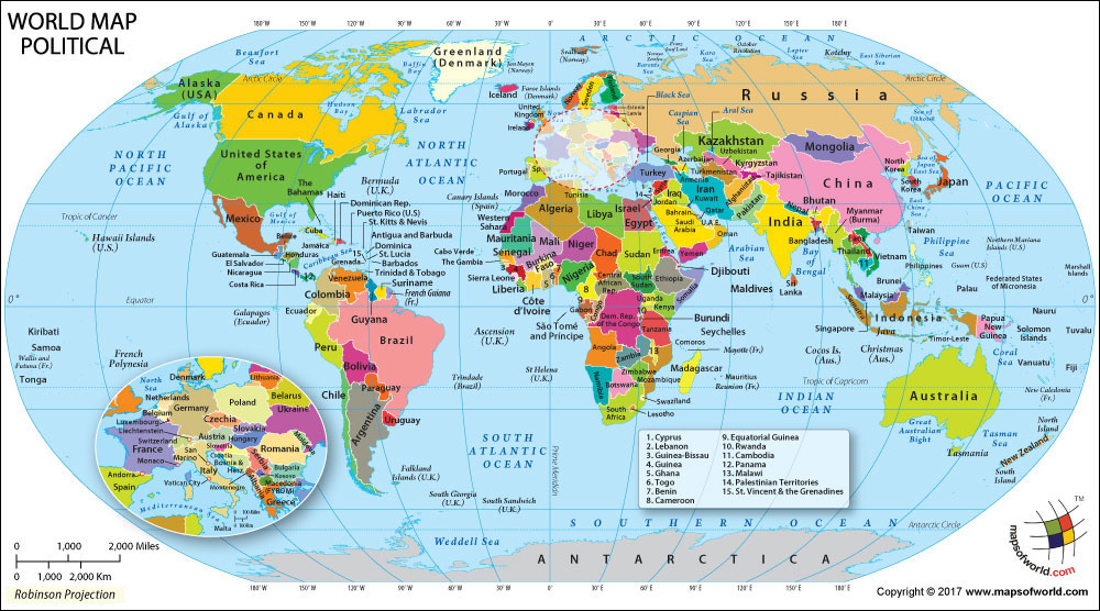 ¿Cuántos países hay en el mundo? 2018 - AlternatripAlternatrip